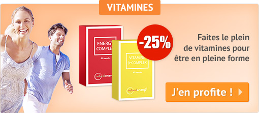 -25% Natural Energy Vitamines