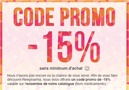 Code promo -15%
