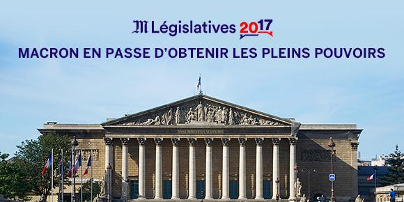 Macron et Le Pen au second tour