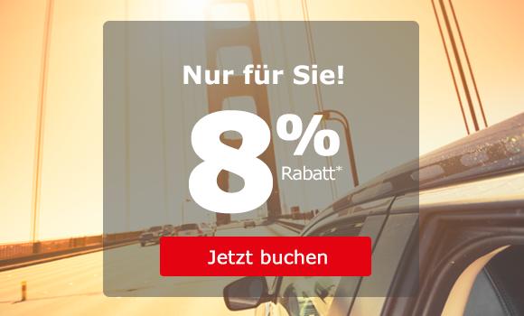 Spezialangebot - Sparen Sie bis zu 8%!