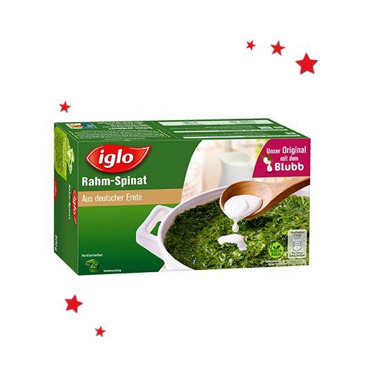 Iglo - Rahm-Spinat