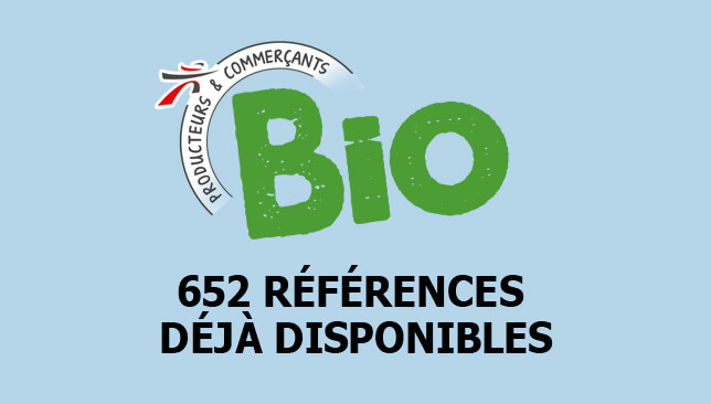 BIO. 652 références déjà disponibles.