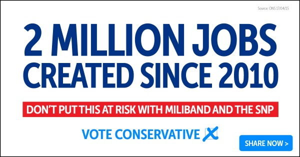 2 million more people in work - SHARE