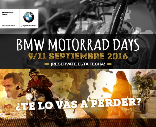BMW MOTORRAD DAYS FORMIGAL 2016
