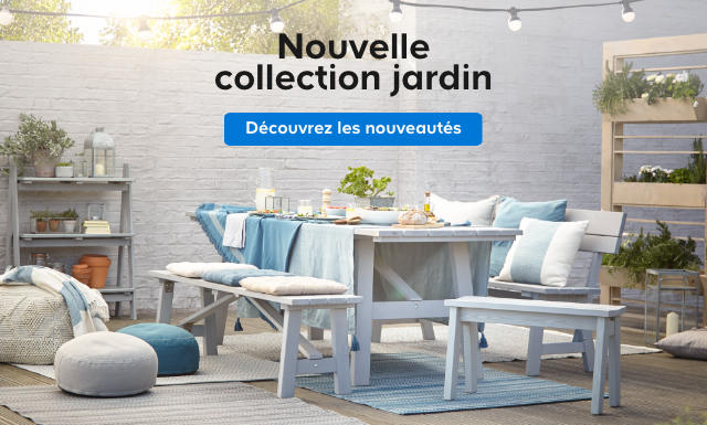 Nouvelle collection jardin. > Découvrez les nouveautés