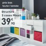 L'étagère 3 cases Mixxit