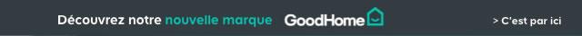 Découvrez notre nouvelle marque GoodHome > C'est par ici
