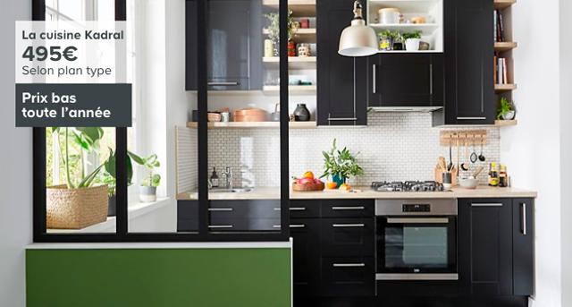 La cuisine Kadral - 495€ Selon plan type Prix bas toute l'année