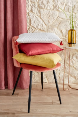 > Le coussin Easton gris 9,90€