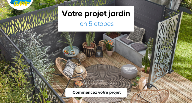 Votre projet jardin en 5 étapes > Commencez votre projet