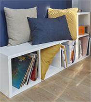 ex a pericos astuces pour optimiser les petits espaces. Black Bedroom Furniture Sets. Home Design Ideas