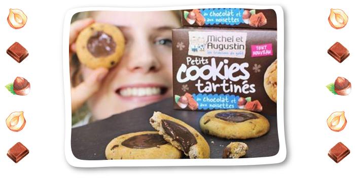 Rencontre du 3ème type entre le cookie et la tartelette !