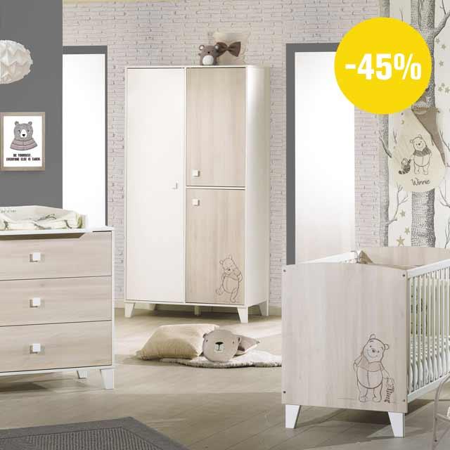 Aubert - Soldes : jusqu\'à -50% sur la chambre de bébé !