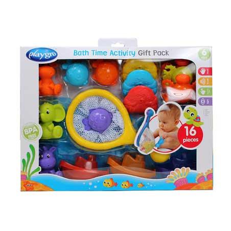 Coffret cadeau jouet de bain de Playgro