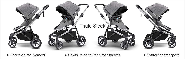 Nouveautés : la poussette Thule Sleek