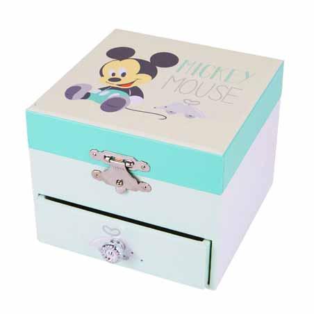 Coffret musique cube Mickey de Trousselier