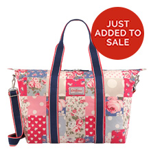 Patchwork Foldaway Overnight Bag
