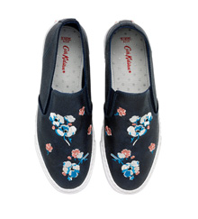 Primrose Spray Classic Slip On Shoes