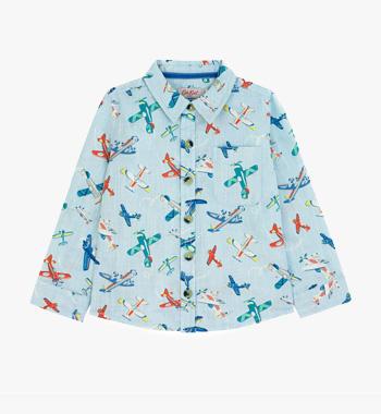 Airshow Kids Long Sleeve Shirt