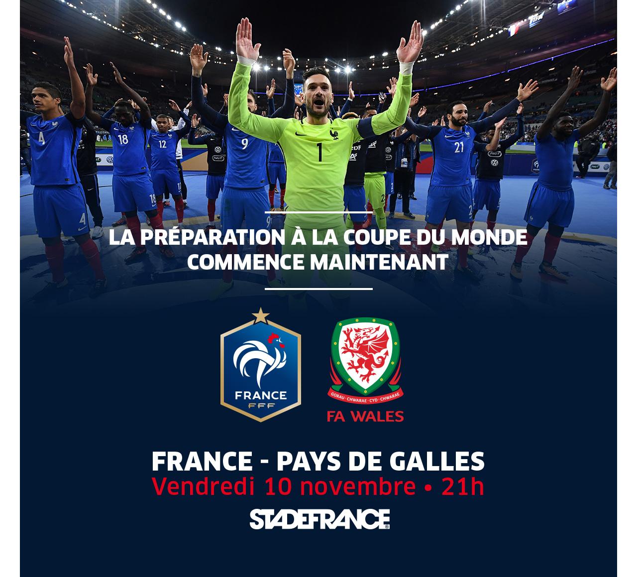 FRANCE - PAYS DE GALLES - LA PREPARATION A LA COUPE DU MONDE COMMENCE MAINTENANT