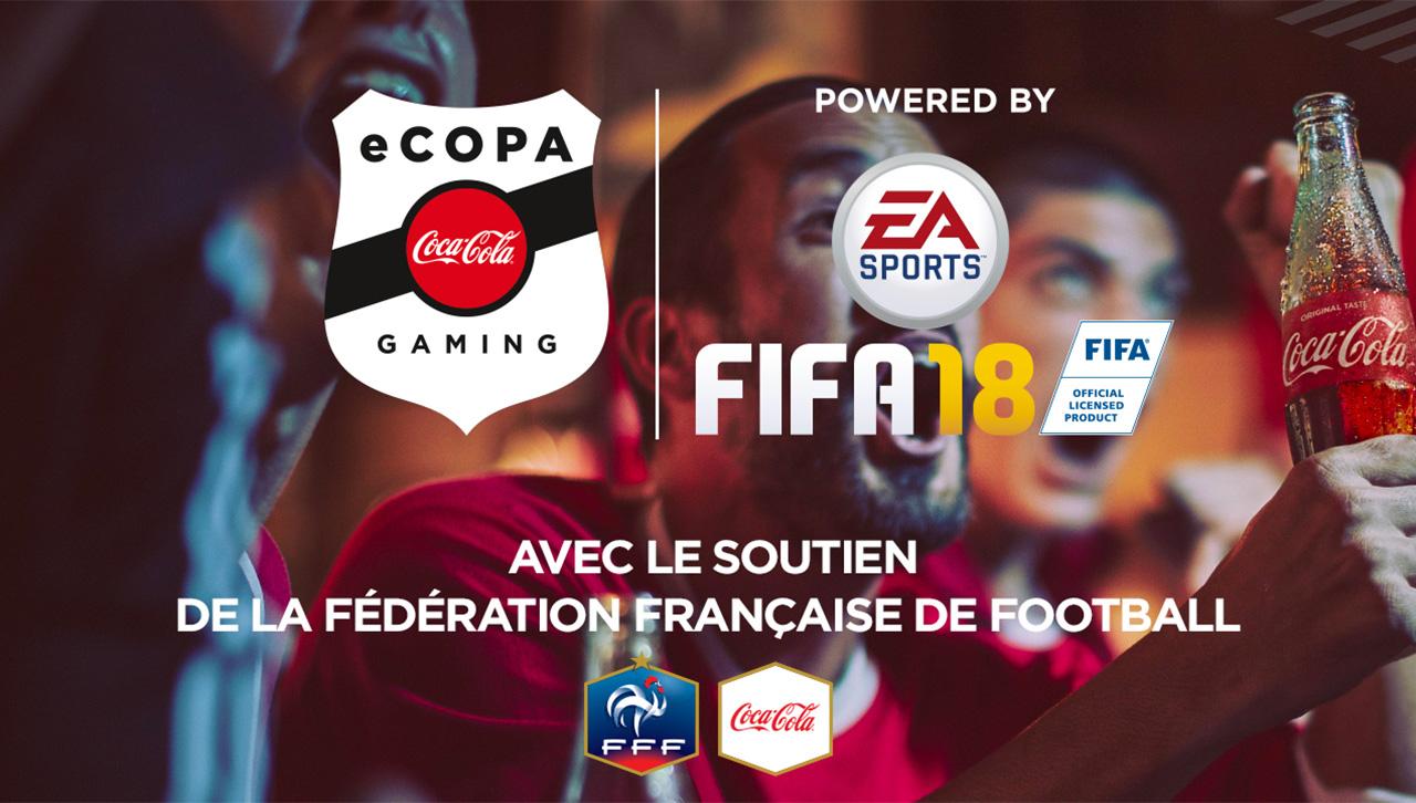 ECOPA COCA COLA GAMING / AVEC LE SOUTIEN DE LA FEDERATION FRANCAISE DE FOOTBALL