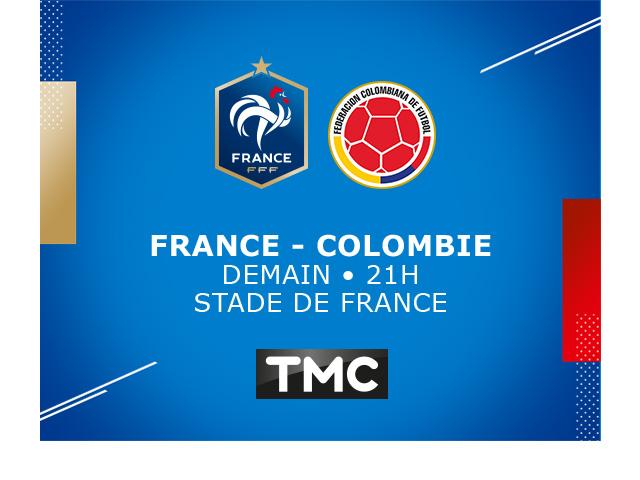 FRANCE - COLOMBIE // TMC