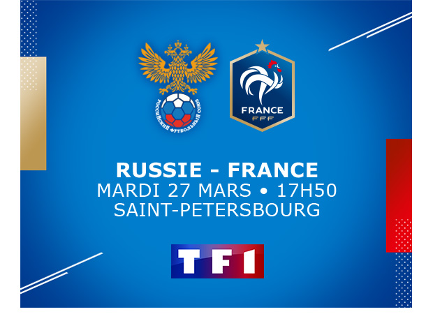 RUSSIE - FRANCE // TF1