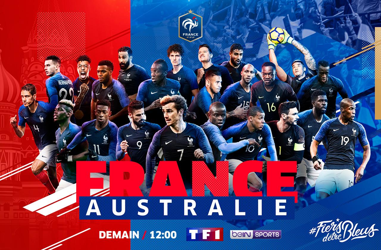 FRANCE / AUSTRALIE