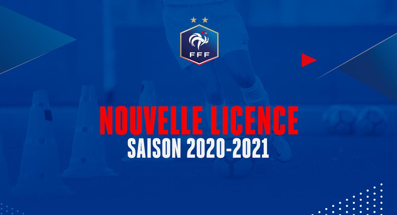 NOUVELLE LICENCE SAISON 2019-2020