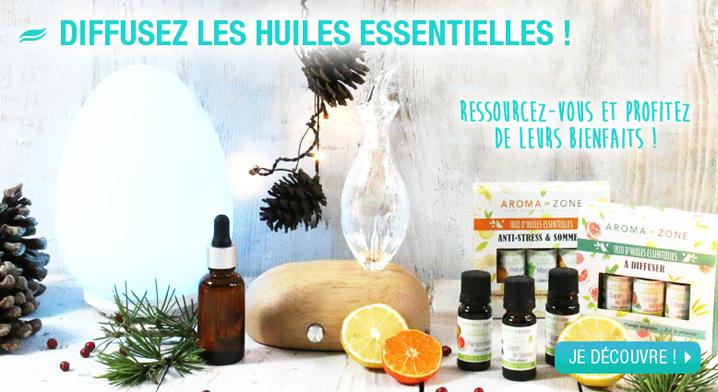 Diffusez les huiles essentielles
