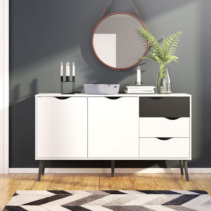 Design in Schwarz & Weiß