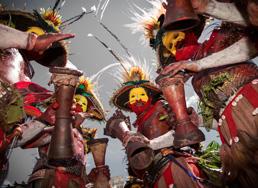 Sing-Sing, Les danses de la culture papoue