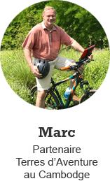 Marc, Partenaire Terres d'Aventure au Cambodge