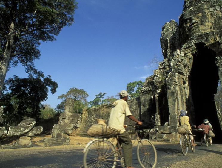 © Entre temples et vallée du Mékong à vélo - Patrick Le Floc h