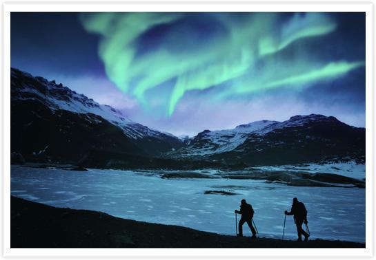 Aurores boréales - Islande © Powerofforever/iStock