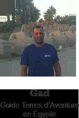 Gad, Guide Terres d'Aventure en Égypte © DR