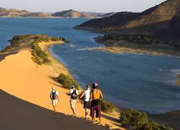 Navigation de charme en Nubie © DR