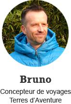 Bruno, concepteur de voyages Terres d'Aventure