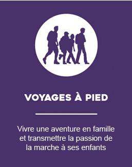 Voyages à pied en famille