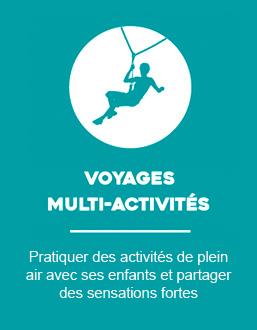 Voyages multi-activités en famille