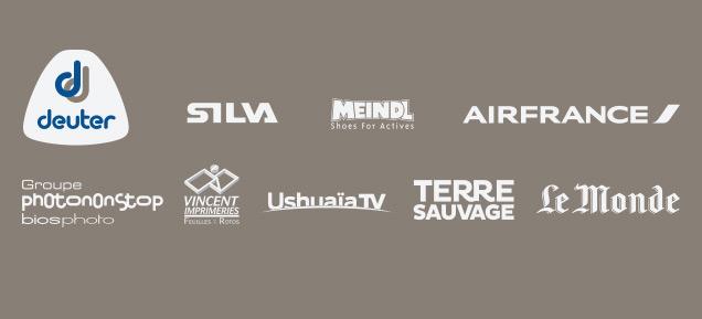 Les partenaires du festival Objectif Aventure 2019