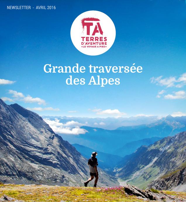 Grande traversée des Alpes © Céline Ravier