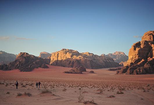 Les plus beaux paysages de Jordanie © Céline Ravier
