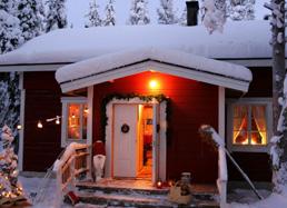 © Petits trappeurs en Laponie - Silja Pitkamaki