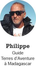Philippe, Guide Terres d'Aventure à Madagascar