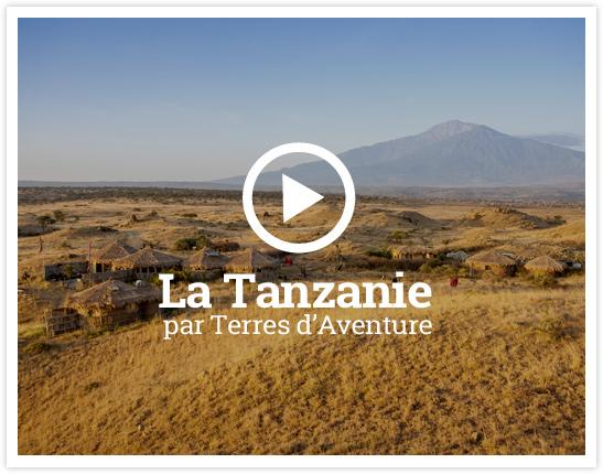 Vidéo Tanzanie avec Terres d'Aventure © Africa Amini Maasai Lodge