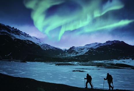 Aurore en Islande © Powerofforever/iStock