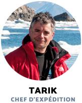 Tarik Chef d'expédition