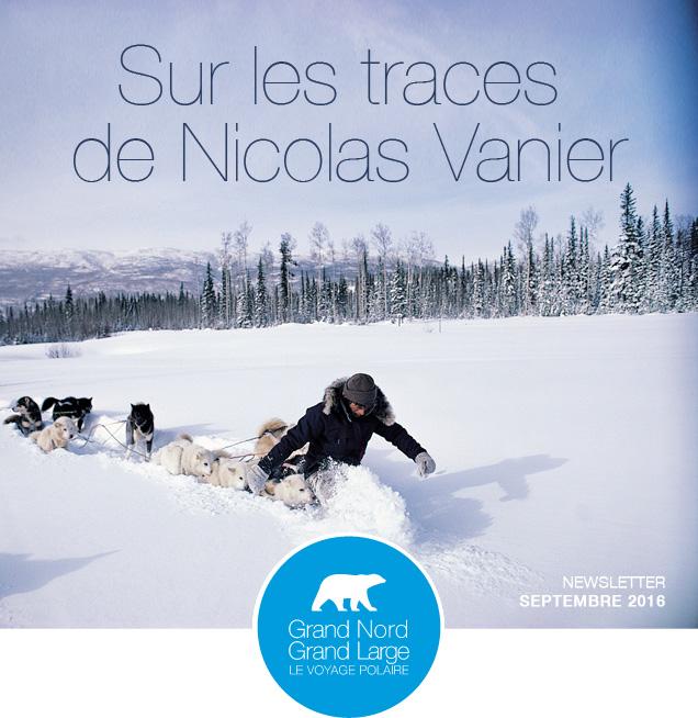 Sur les traces de Nicolas Vanier © Nicolas Vanier