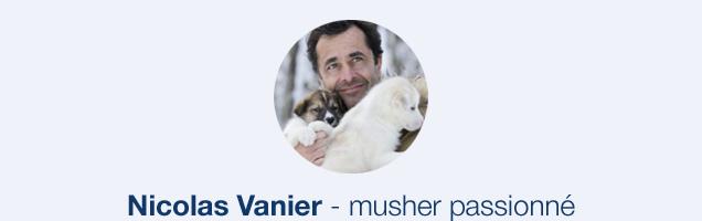 Nicolas Vanier - musher passionné